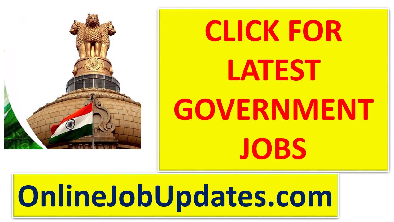 Latest Government Jobs Updates