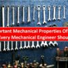 20 Important Mechanical Properties Of Material