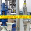 Difference between Pressure Relief Valve and Pressure Safety Valve
